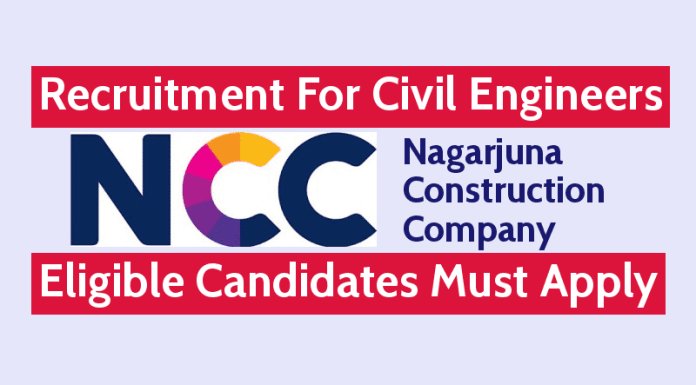 Nagarjuna Construction Company Hiring Civil Engineers Eligible Candidates Must Apply