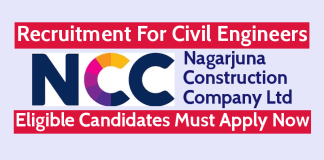 NCC Limited Recruitment For Civil Engineers Eligible Candidates Must Apply Now