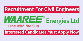 Waaree Energies Ltd Recruitment For Civil Engineers Interested Candidates Must Apply Now