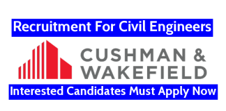 Cushman & Wakefield India Pvt Ltd Recruitment For Civil Engineers Interested Candidates Must Apply Now