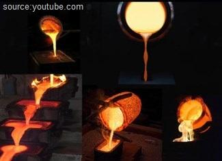What is metal casting process
