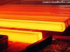 Steel billets forming