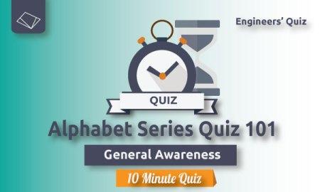 alphabet series quiz--general-awareness-ssc-je-series
