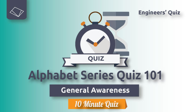 alphabet series quiz--general-awareness-ssc-je-series