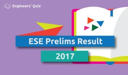 ese prelims result 2017