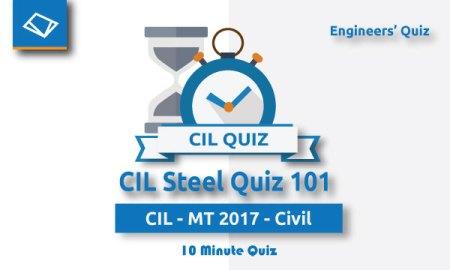 CIL Steel Quiz