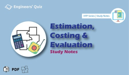 Estimation Costing Notes