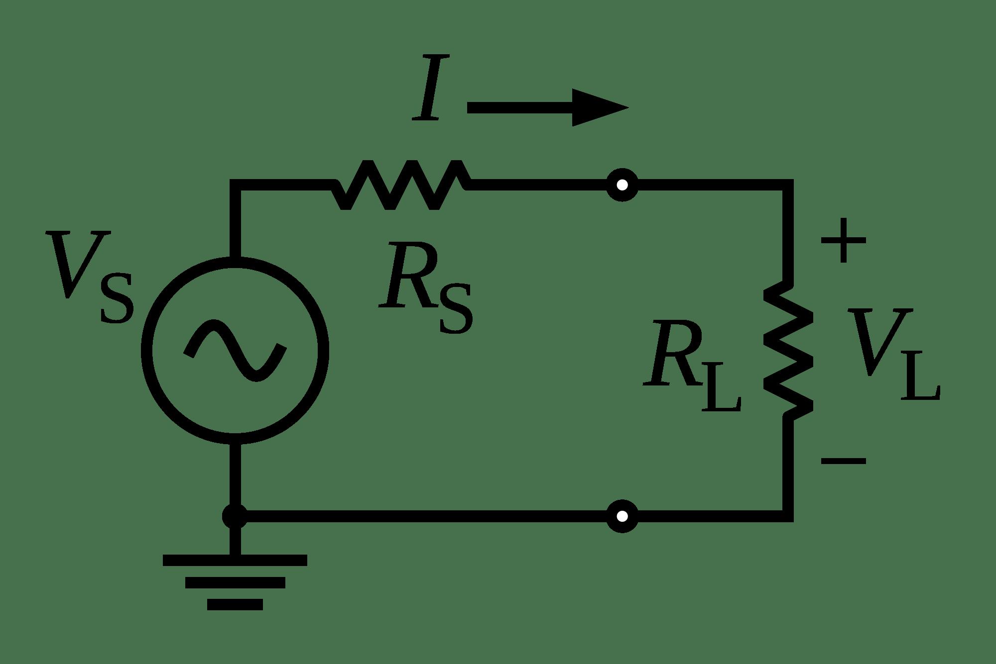 AC Circuit to represent Load