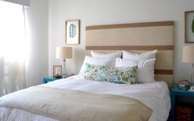 Bedroom Decorating Ideas: DIY Headboard