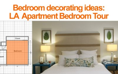 Bedroom Decorating Ideas: LA Bedroom Tour