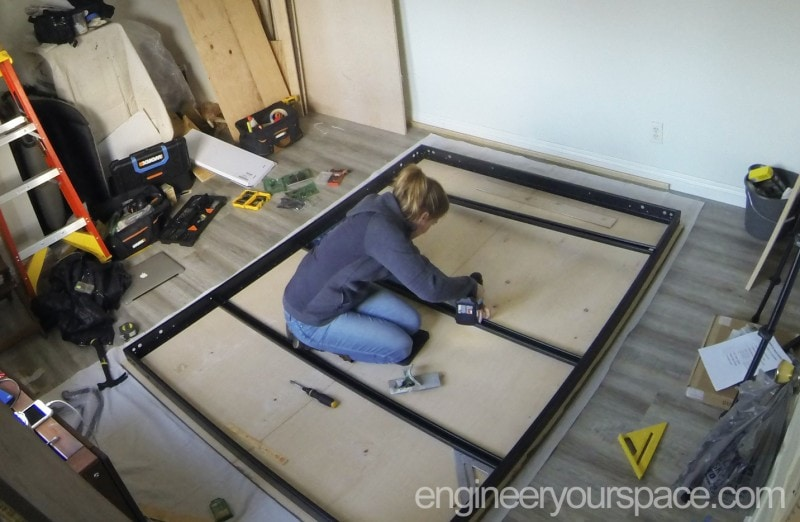 How to building a Murphy bed A-Z (without a workshop!)