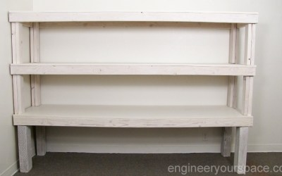 How to do a white wash treatment on natural wood