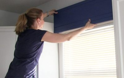 How to add color to a kitchen with a DIY window valence