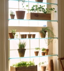 DIY greenhouse window