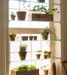 DIY greenhouse window