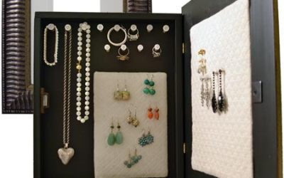 Valentine's day gift idea: DIY hanging jewelry box