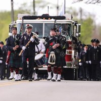 Firefighter Procession