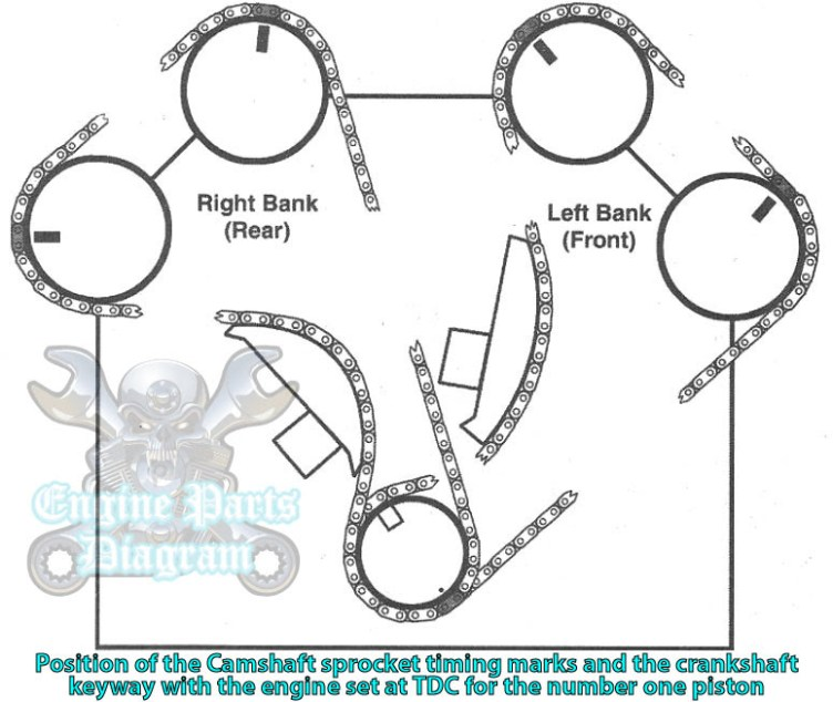 1996 2000 Ford Contour Timing Marks Diagram 2 5 L Engine