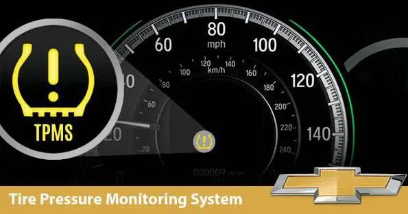 2015-2018 Chevrolet City Express TPMS Light Tire Pressure Reset