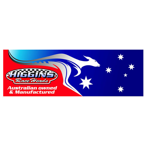 Higgins Race Heads - Australian Owned and Manufactured