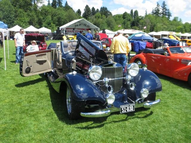 1937 Mercedes 540K with a Viper V10
