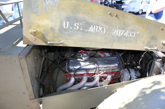 Custom Twin 454 V8 engine Army M3 half-track truck