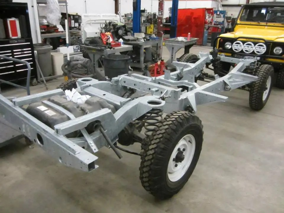 1993 Land Rover NAS Defender chassis