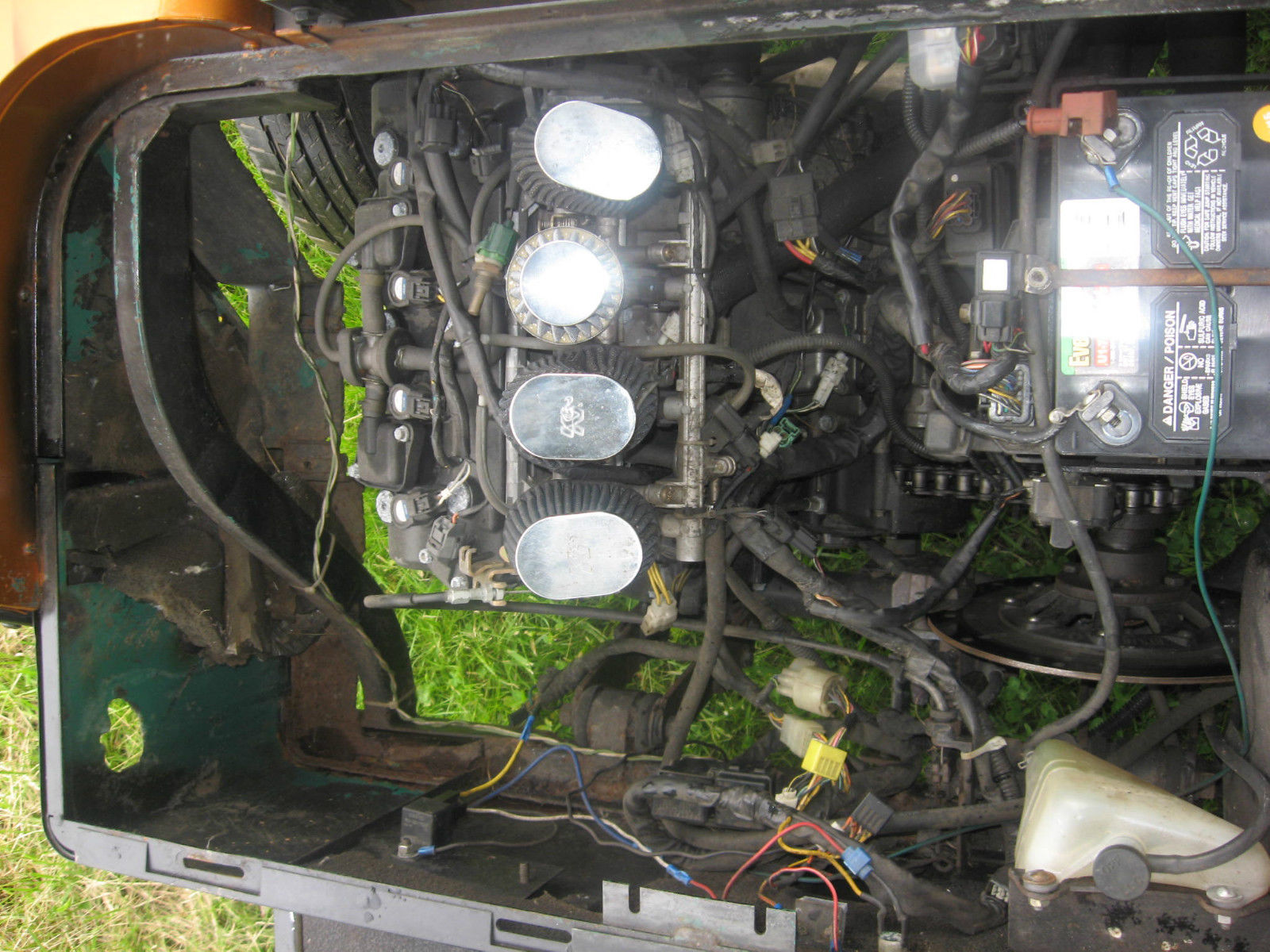Golf Cart With A Suzuki Gsx R600 Engine Swap Depot