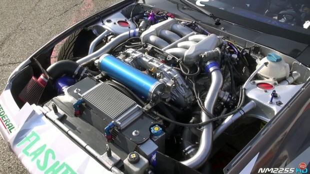 Nissan 200SX with a VR38DETT V6