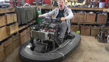 Colin Furze's Pulse Jet Powered Go-Kart – Engine Swap Depot