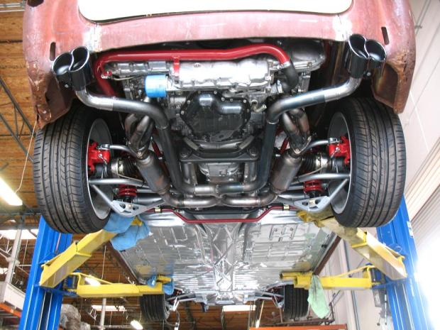 Karmann Ghia with a Subaru EZ30R Flat-Six