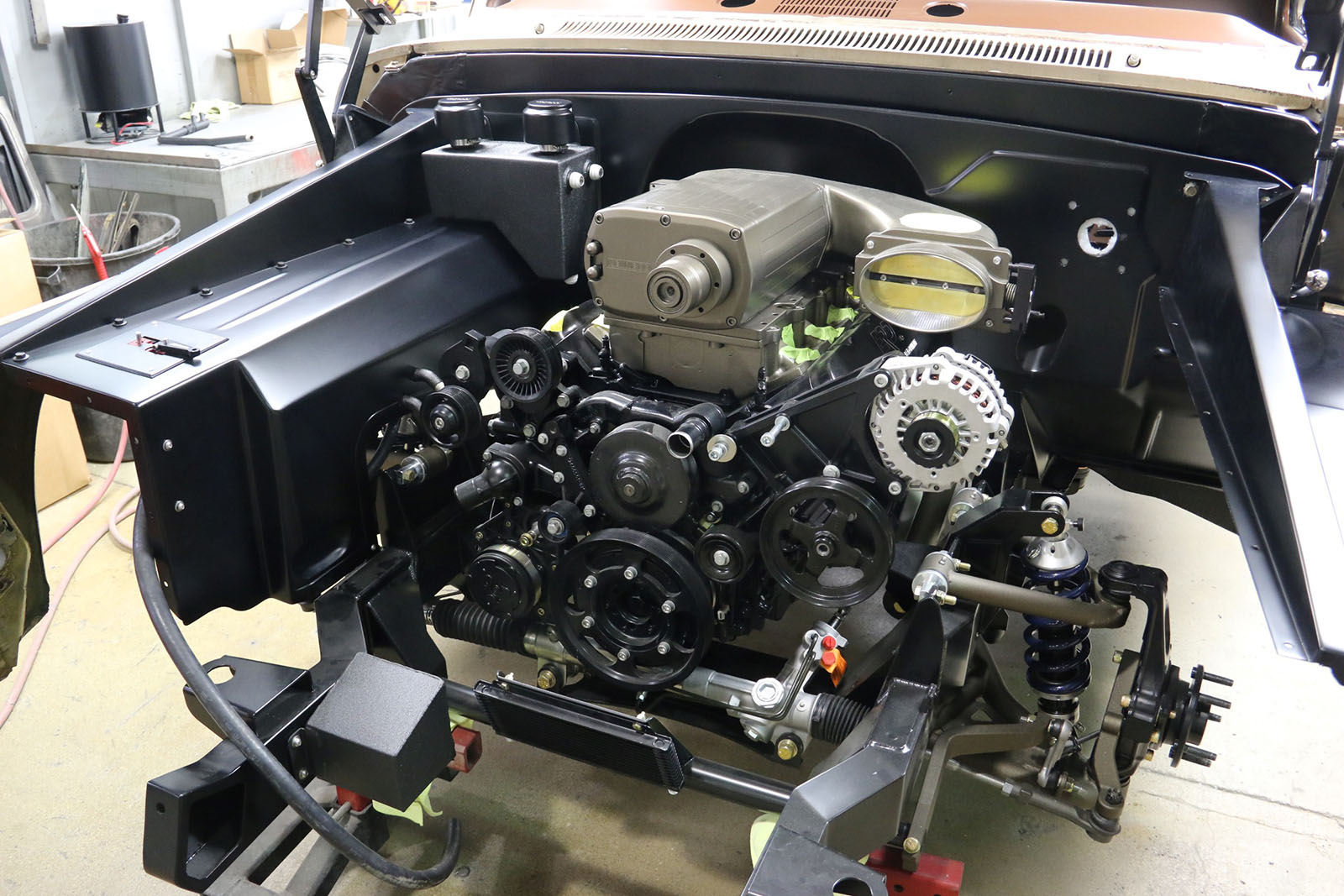 1965 C10 With A Supercharged Lsx Engine Swap Depot