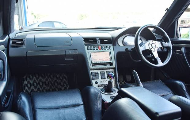 1995 Mercedes C200 W202 with a Turbo F20C inline-four