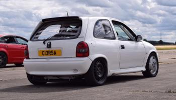 Vauxhall Corsa with a Turbo C20LET Inline-Four – Engine Swap Depot