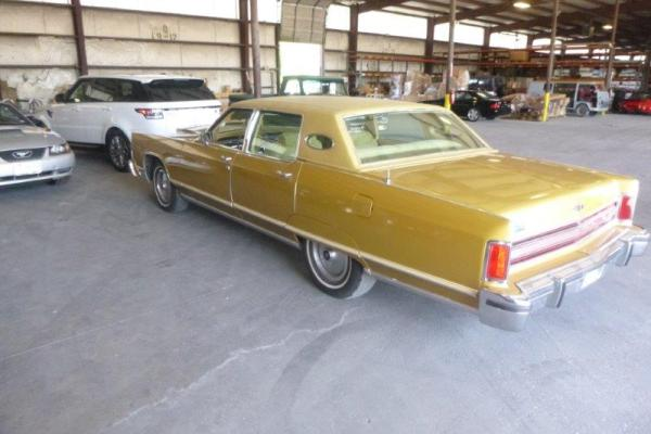 1977 Lincoln Continental with a Mercedes V12