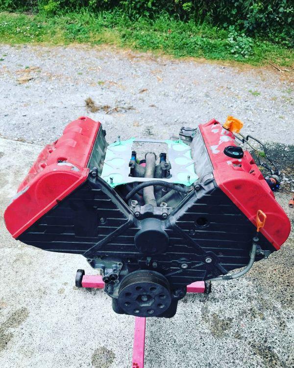 RWD Honda Integra with a mid-engine NSX C30 V6