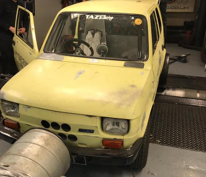 Fiat 126 with a 3SGTE Inline-Four
