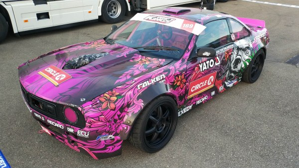 Nissan 200SX with a supercharged LS3 V8