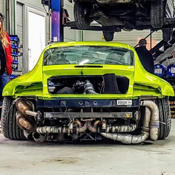 Porsche 996 with a Turbo Audi V6
