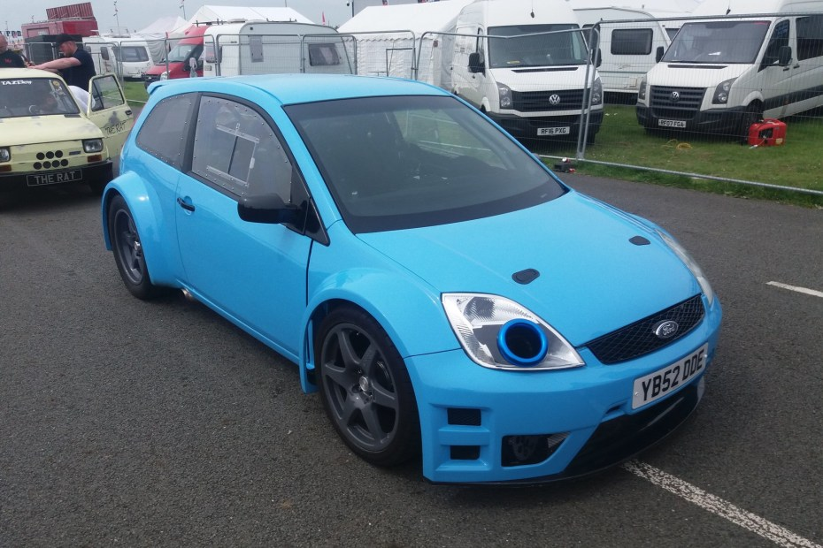 RWD Ford Fiesta with a Turbo Cosworth Inline-Four