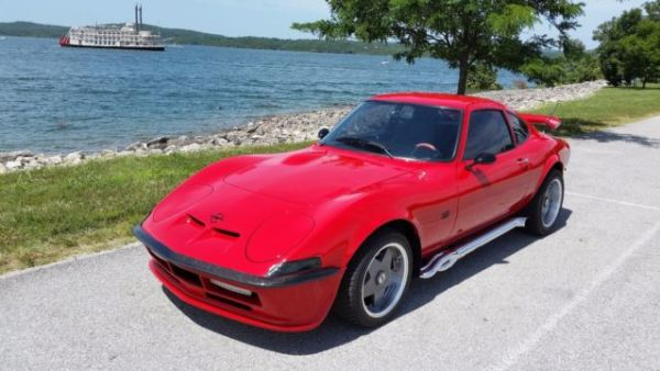 1971 Opel GT with a 2.0 L Zetec inline-four