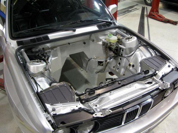 BMW E30 M3 with a Dinan 5.7 L S85 V10