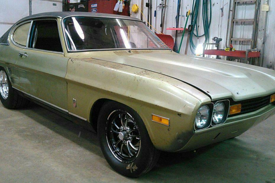 1973 Capri with a Coyote V8