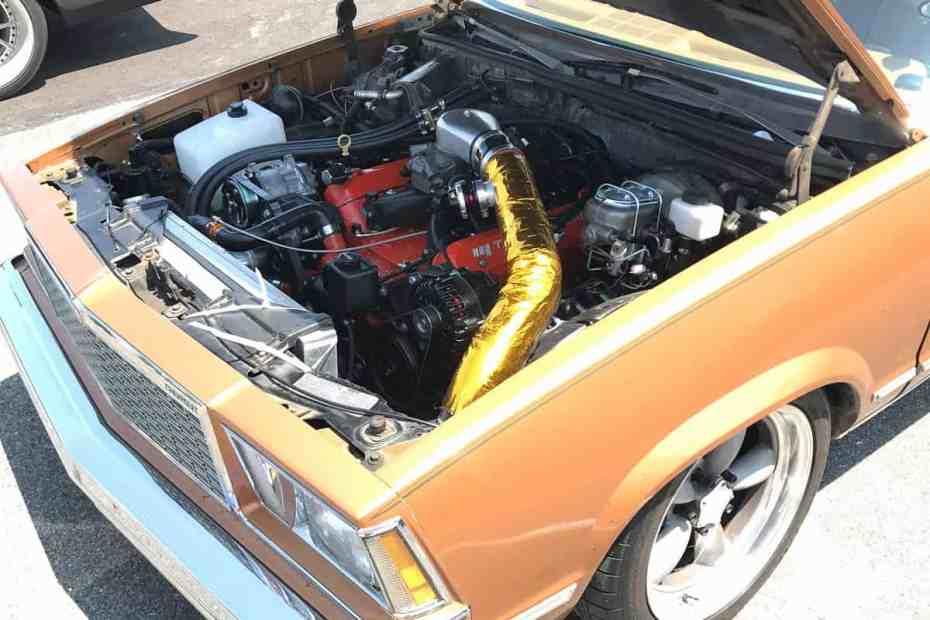 1978 Malibu with a turbo LS3 V8