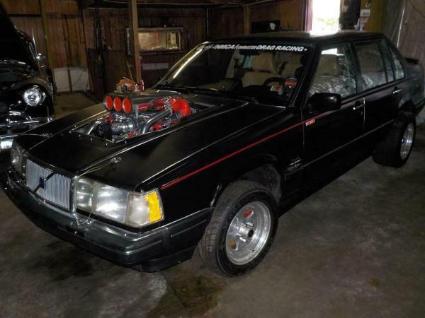 1992 Volvo 960 with a Supercharged and Quad-Turbo 632 ci Chevy V8