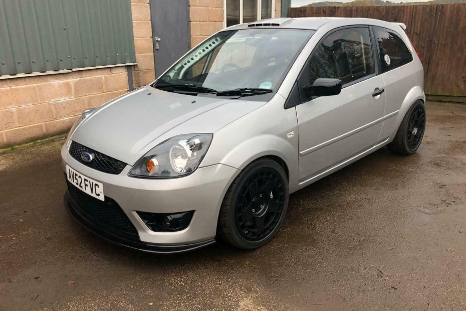 AWD Ford Fiesta with a Turbo Cosworth YB Inline-Four