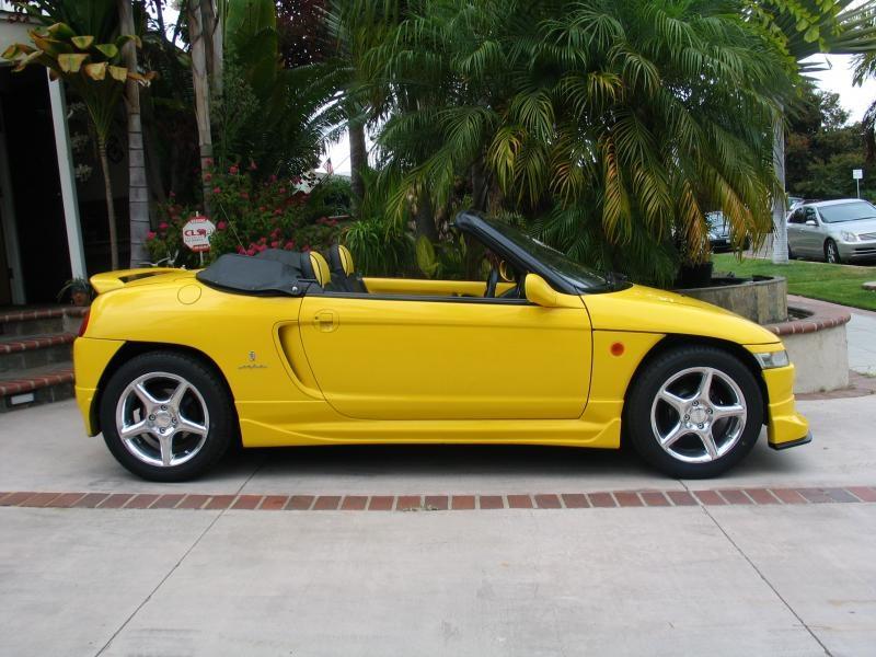 1991 Honda Beat with a Hayabusa inline-four