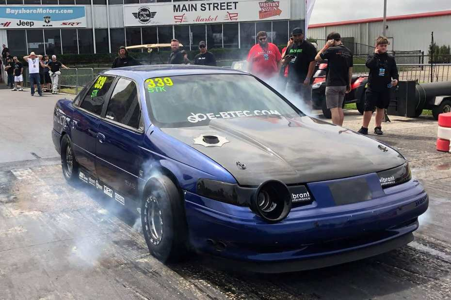 The Blue Turd 1995 Taurus with a turbo V6