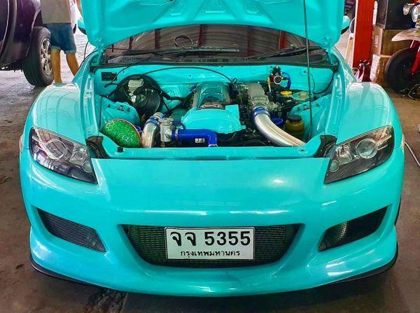 Mazda RX-8 with a turbo 1JZ inline-six