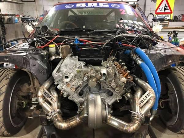 Nissan R33 with a Turbo 1UZ V8